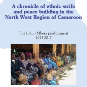 A CHRONICLE OF ETHNIC STRIFE AND PEACE BUILDING IN THE NORTH WEST REGION OF CAMEROON-achat livre